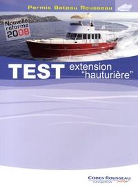 Deedr.fr Test extension hauturière - Permis Bateau Rousseau Image