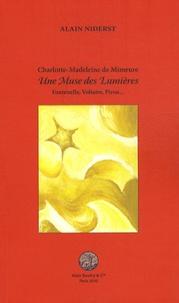 Alain Niderst - Charlotte-Madeleine de Mimeure Une muse des lumières - Fontenelle, Voltaire, Piron....