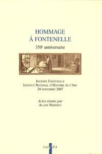 Alain Niderst - Hommage à Fontenelle - 350e anniversaire - Journée Fontenelle, Instittut National d'Histoire de l'Art, 24 novembre 2007.