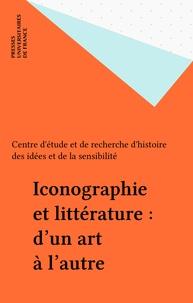 Alain Niderst - Iconographie et littérature - D'un art à l'autre.