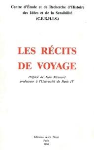 Alain Niderst et  Collectif - Les Récits de voyage.