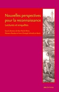 Alain-Patrick Olivier et Maiwenn Roudaut - Nouvelles perspectives pour la reconnaissance - Lectures et enquêtes.