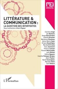 Alain Payeur - MEI N° 33 : Littérature & communication : la question des intertextes.