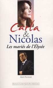 Alain Perceval - Carla et Nicolas - Les mariés de l'Elysée.