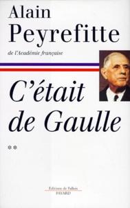 Histoiresdenlire.be C'était de Gaulle. Tome 2,