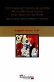 Alain Pichon - Commission permanente de contrôle des sociétés de perception et de répartition des droits - Rapport annuel 2014.