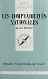 Alain Pichot - Les comptabilités nationales.