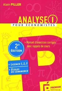 Analyse pour économistes - Tome 1, Manuel dexercices corrigés avec rappels de cours.pdf