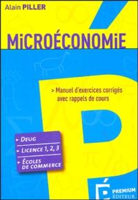 Microéconomie - Manuel dexercices corrigés avec rappels de cours.pdf