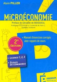 Deedr.fr Microéconomie - Manuel d'exercices corrigés avec rappels de cours Image