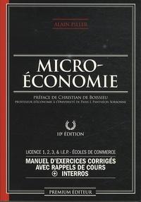 Microéconomie - Manuel dexercices corrigés avec rappels de cours + interros.pdf