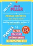 Alain Piller - Probas discrètes - Term. ES, L.