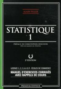 Statistique - Manuel dexercices corrigés avec rappels de cours Tome 1.pdf