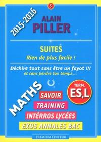 Alain Piller - Suites Tle ES, L.