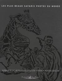 Alain Pons et Christine Baillet - Les plus beaux safaris photos du monde - Coffret 4 volumes : Afrique du Sud ; Galapagos ; Inde ; Madagascar.