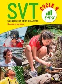Alain Pothet et Samuel Rebulard - SVT 5e 4e 3e Cycle 4.