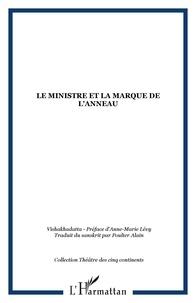 Alain Poulter - Le ministre et la marque de l'anneau.