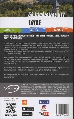 Loire. 56 itinéraires VTT
