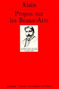 Alain - Propos sur les beaux-arts.
