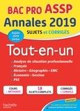Alain Prost et Marie-Pierre Cervoni - Annales Bac Pro ASSP - Tout-en-un.