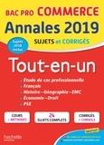 Alain Prost et Rémy Colin - Annales Bac Pro commerce - Tout-en-un.
