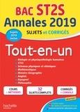 Alain Prost et Chrystelle Ménard - Annales Bac ST2S - Tout-en-un.