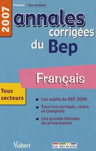 Français BEP Tous secteurs- Annales corrigées - Alain Prost | Showmesound.org
