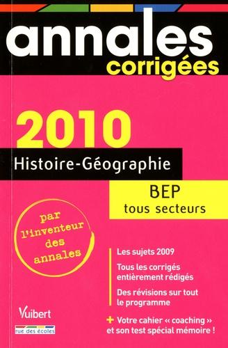 Alain Prost - Histoire-Géo BEP tous secteurs 2010.