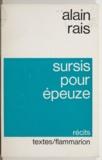 Alain Rais - Sursis pour épeuze.