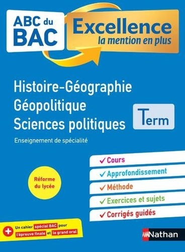 Histoire-Géographie Géopolitique Sciences politiques Tle  Edition 2020