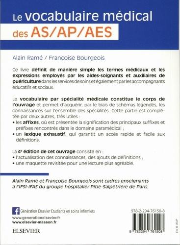 Le vocabulaire médical des AS/AP/AES 4e édition