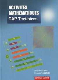 Alain Redding et Francis Taillade - Activités mathématiques - CAP Tertiaires (Tertiaires - Services - Hôtellerie - Alimentation - Restauration).