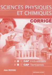 Checkpointfrance.fr Corrigé sciences physiques et chimiques - CAP industriels tertiaires Image