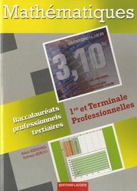 Alain Redding et Sylvain Berco - Mathématiques 1re et Terminale Professionnelles - Baccalauréats professionnels Tertiaires.