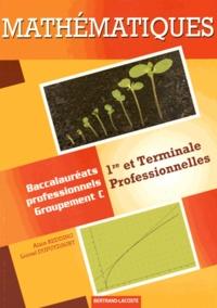 Alain Redding et Lionel Dupuydauby - Mathématiques 1res et Tles professionnelles - Baccalauréats professionnels Groupement C.