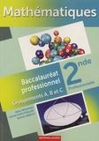 Alain Redding - Mathématiques 2e bac pro - Groupements A, B et C.