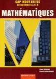 Alain Redding et Lionel Dupuydauby - Mathématiques CAP industriels - Groupements A et B.