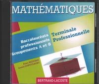Alain Redding et Lionel Dupuydauby - Mathématiques Tle Bac Pro groupements A et B. 1 Cédérom