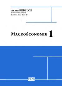 Alain Redslob - Macroéconomie 1.