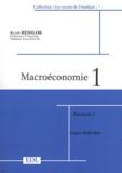 Alain Redslob - Macroéconomie - Tome 1, 2 volumes.