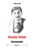 Alain Renault - Gaston Couté - Discographie.