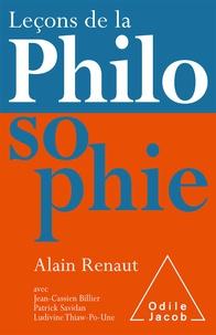 Alain Renaut - Leçons de la philosophie.