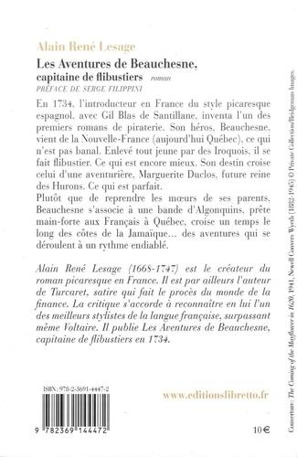 Les Aventures de Beauchesne. Capitaine de flibustier
