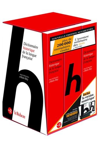 Alain Rey - Dictionnaire historique de la langue française - 3 volumes.