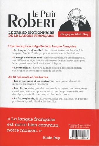 Le Petit Robert de la Langue Française  Edition 2021