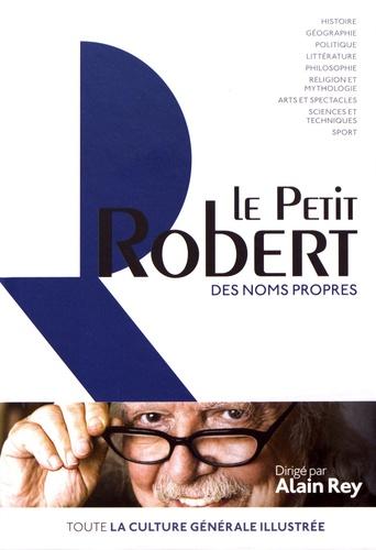 Le Petit Robert des noms propres  Edition 2019