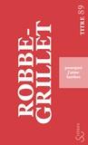 Alain Robbe-Grillet - Pourquoi j'aime Barthes.