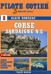 Alain Rondeau - Pilote Côtier Corse-Sardaigne Nord Est. 1 Cédérom