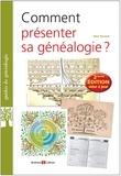 Alain Rouault - Comment présenter sa généalogie ?.