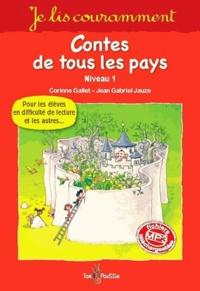 Alain Royer et Corinne Gallet - Contes de tous les pays - Niveau 1.